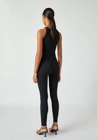 PULL&BEAR - Leggings - Trousers - black - 2