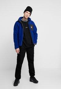 Topman - TEE - T-shirt con stampa - black - 1