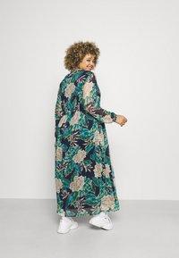 VILA CURVE - VIERICA ANKLE DRESS - Maxi dress - blue - 2