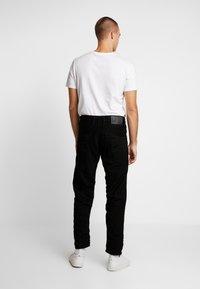 G-Star - STRAIGHT TAPERED - Straight leg jeans - zelz black denim - 2