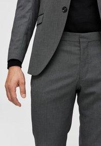 Selected Homme - Anzughose - dark grey melange - 4