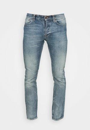 GRIM TIM - Jeans slim fit - worn sonic