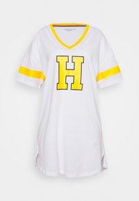 Tommy Hilfiger - VARSITYSS DRESS VARSITY - Nightie - white - 3