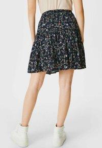 C&A - A-line skirt - black - 1