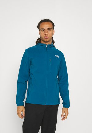 NIMBLE HOODIE - Soft shell jacket - moroccan blue