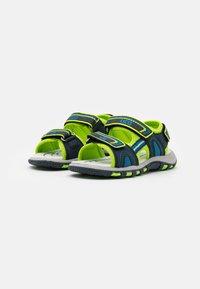 LICO - LUCA - Walking sandals - marine/lemon/blau - 1