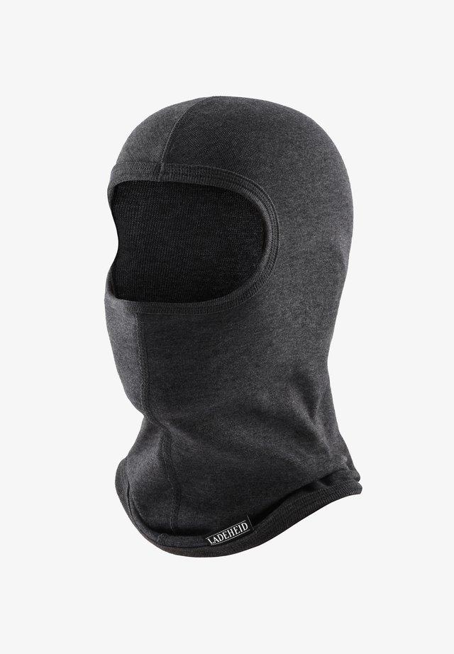 BALACLAVA - Bonnet - dark grey - melange