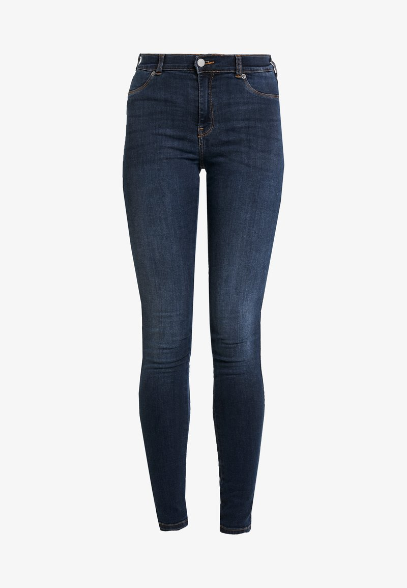 Dr.Denim PLENTY - Jeans Skinny Fit - pacific dark blue/dark-blue denim mo8oTg
