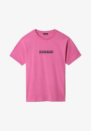 S-BOX   - T-shirt imprimé - pink super