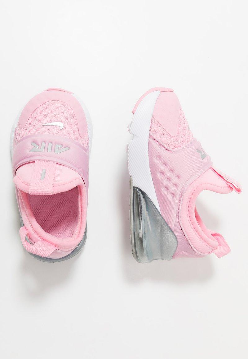Nike Sportswear - AIR MAX 270 EXTREME - Scarpe senza lacci - pink/metallic silver/white