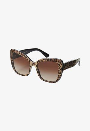 Sunglasses - mottled brown