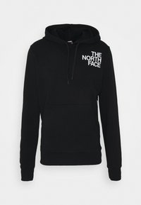 The North Face - OVERSIZE LOGO HOODIE - Hoodie - black/white - 3