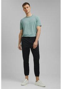Esprit Collection - FASHION - Tracksuit bottoms - black - 1