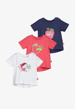 FRESH APPLES - Print T-shirt - white