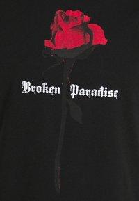 274 - PARADISE ROSE TEE - Print T-shirt - black - 5