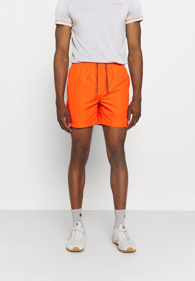 MELSTONE - Friluftsshorts - dark orange