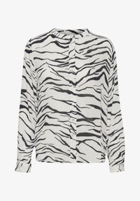 black  chalk zebra print
