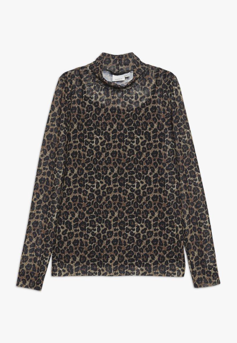 Name it - NKFSANIMAL SLIM - Long sleeved top - black