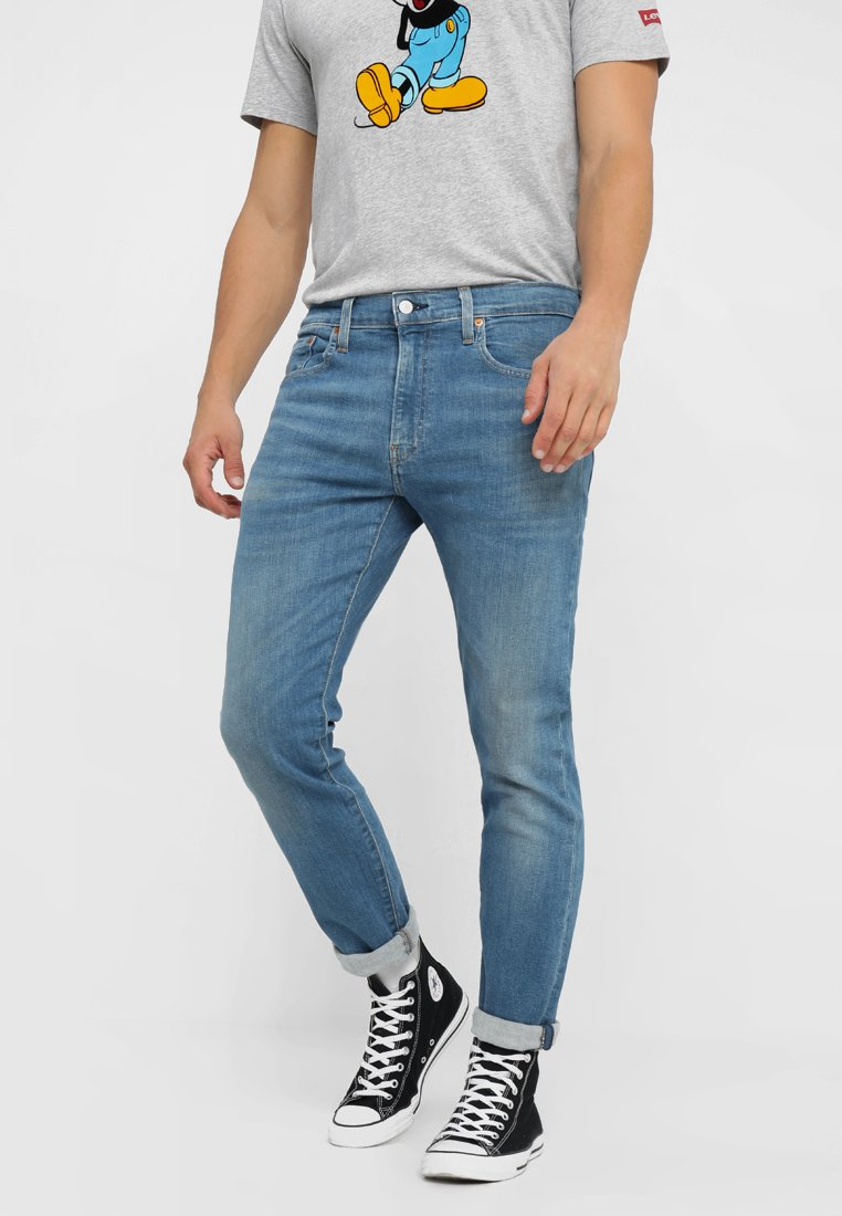 Levi's® - 512 SLIM TAPER  - Slim fit jeans - lightblue denim