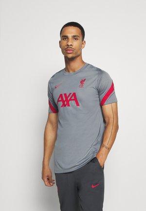 LIVERPOOL FC - Club wear - smoke grey/gym red