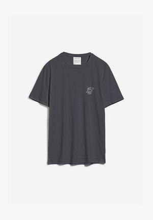 JAAMES STRUGGLE - T-shirt print - acid black