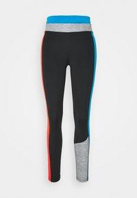 Nike Performance - ONE 7/8 - Medias - black/light photo blue/chile red/black - 4