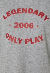 ONLY Play - ONPJARA LONG  - Sweatshirt - medium grey melange/ red orchre - 2