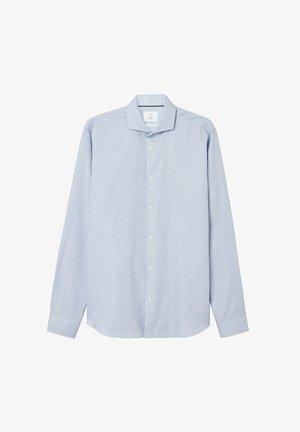 ALBERT  - Shirt - blue check