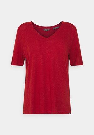 Basic T-shirt - rooibos orange