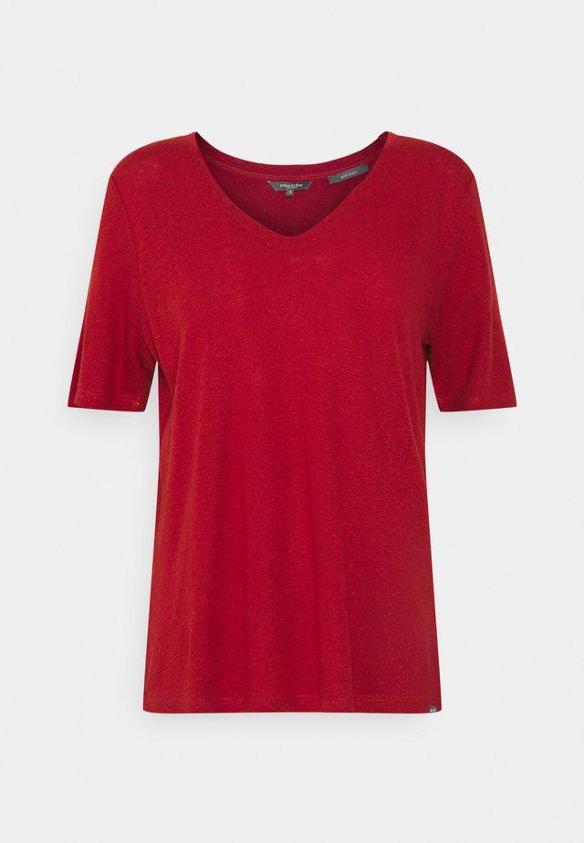 T-shirt - bas - rooibos orange