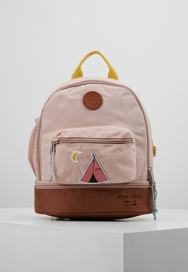 MINI BACKPACK ADVENTURE TIPI - Rucksack - rosa