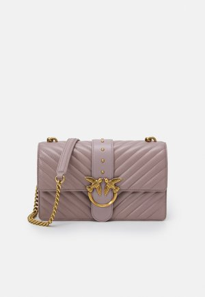 LOVE CLASSIC ICON - Across body bag - taupe