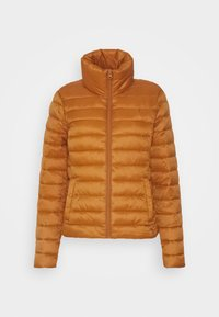 Vila - VISIBIRIA SHORT JACKET - Light jacket - pumpkin spice - 4