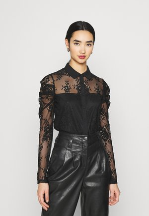 TAJ - Button-down blouse - noir