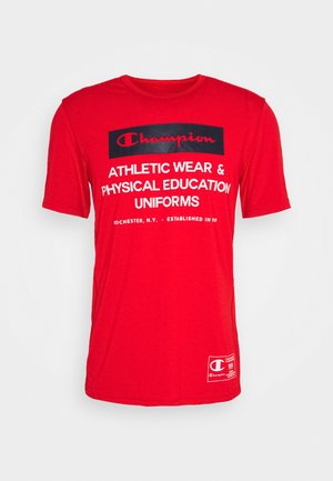 LEGACY TRAINING CREWNECK - T-shirt med print - red