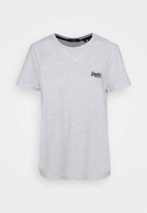 ORANGE LABEL - T-shirts med print - ice marl