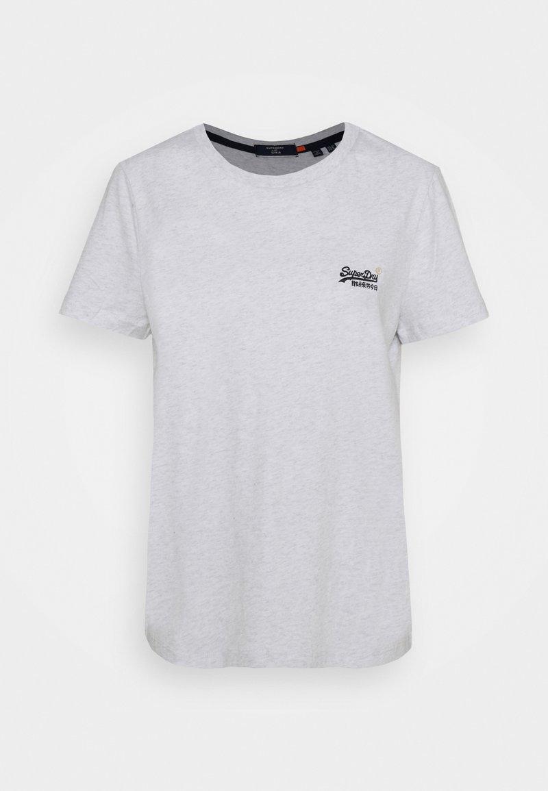 Superdry - ORANGE LABEL - Print T-shirt - ice marl