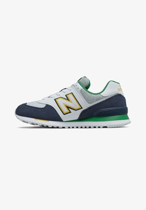 Trainers - natural indigo/varsity green