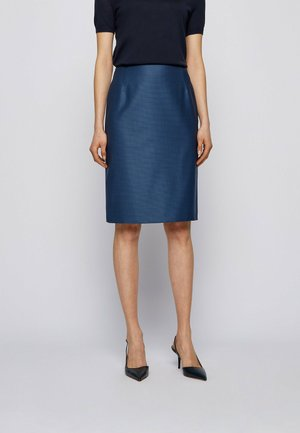VINEKA - Pencil skirt - blue