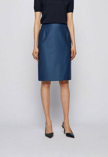 VINEKA - Pencil skirt - blue