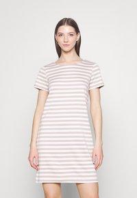 Vila - VITINNY - Jersey dress - snow white - 0