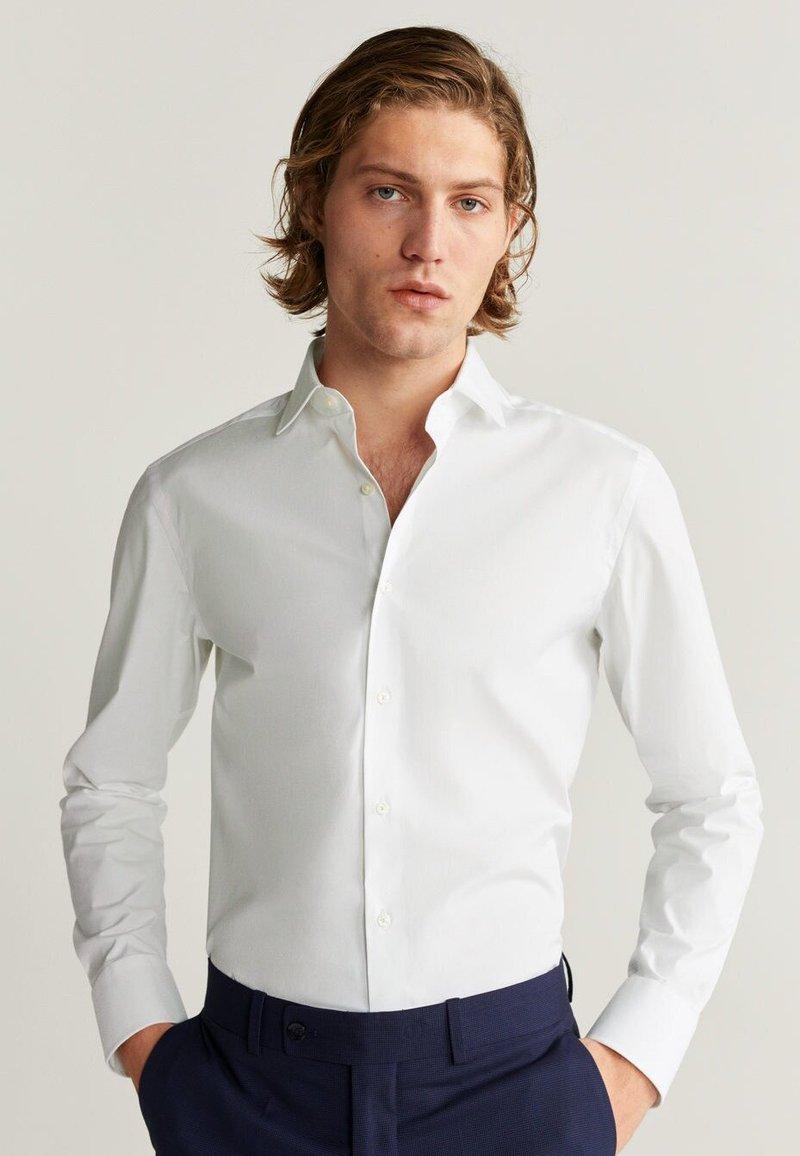 Mango - EMERITOL - Koszula biznesowa - white