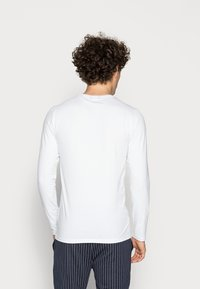 Only & Sons - ONSBASIC SLIM TEE - Long sleeved top - white - 2