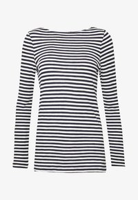 Marc O'Polo - LONG SLEEVE BOAT NECK STRIPED - Longsleeve - multi/night sky - 3