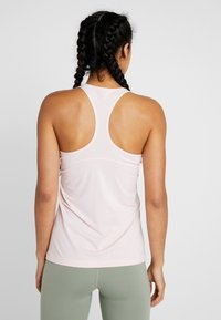 Nike Performance - TANK ALL OVER  - Sports shirt - echo pink/white - 2