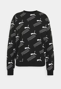 Puma - AMPLIFIED CREW - Sweatshirt - black - 0
