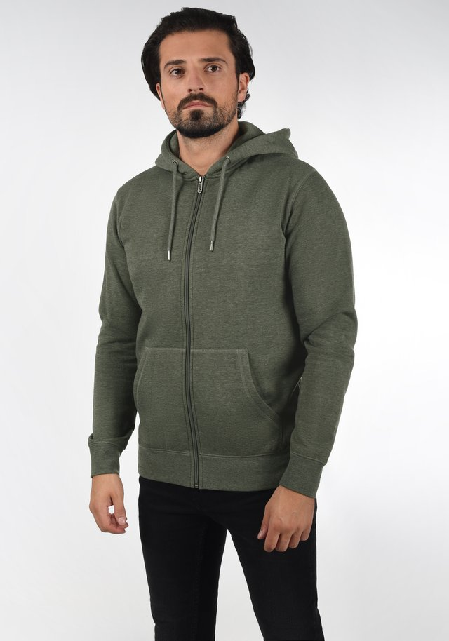BERTIZIP - Sweater met rits - climb ivy