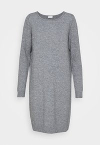 Vila - Jumper dress - medium grey melange - 0