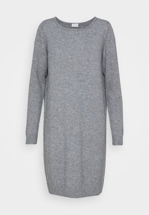 VIRIL DRESS - Jumper dress - medium grey melange