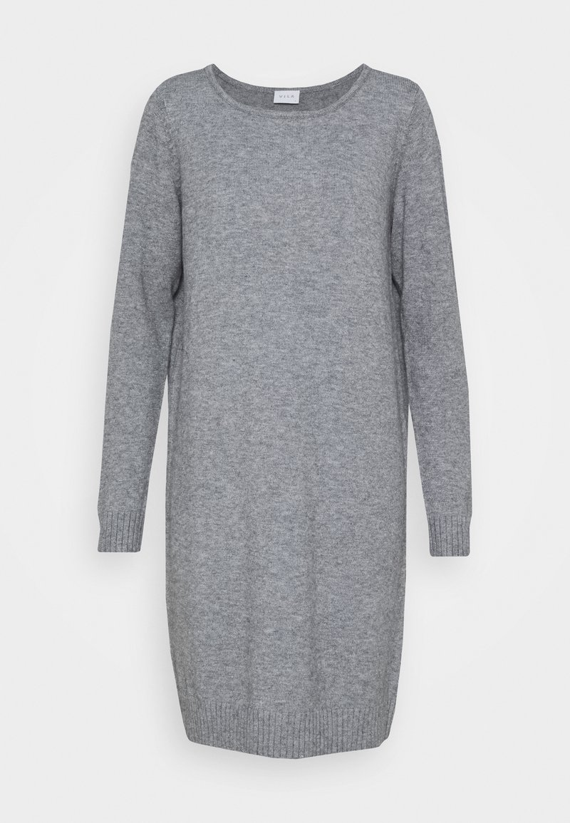 Vila - Jumper dress - medium grey melange